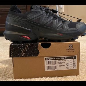 Salomon Speedcross 5 GTX sz 9.5 US women NEW!
